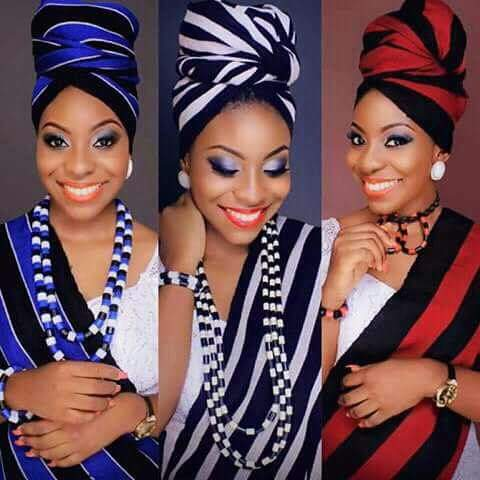 benue girl rocking igede idoma tiv attire